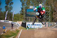 # 133 (CRISTOFOLI Roberto) ITA at the UCI BMX Supercross World Cup in Santiago del Estero, Argintina.
