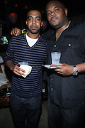 l to r: Brandon Howard and Sean Creighton at ' Rising Icons ' featuring The Dream presented by Grey Goose, Complex Magazine & BET held at The Hiro Ballroom on July 30, 2009 in New York City