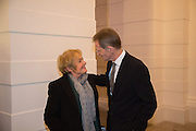 MARGARET HODGE; SIR NICHOLAS SEROTA, Tate Britain reopening party. Tate Britain. 18 November 2013