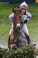 Jalapeno III ridden by Gemma Tattersall in the Equi-Trek CCI-L4* Cross Country during the Bramham International Horse Trials 2019 at Bramham Park, Bramham, United Kingdom on 8 June 2019.
