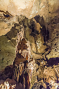 Interior of the Cave Without A Name near Boerne, Texas