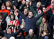 Sheffield Utd fans for fans feature during the Premier League match at Bramall Lane, Sheffield. Picture date: 7th March 2020. Picture credit should read: Simon Bellis/Sportimage