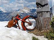 The Giau Mountain Pass (elevation 2236 m)The Dolomites mountains Veneto, Italy