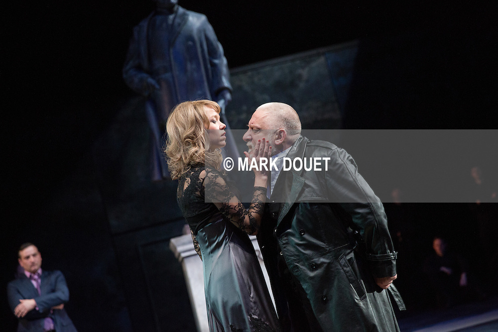 King Lear at the National Theatre.<br />