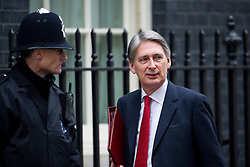 © London News Pictures. 19/03/2013. London, UK.  Chief Secretary of State for Defence Philip Hammond MP arriving on Downing Street in London for cabinet meeting. Photo credit: Ben Cawthra/LNP.