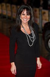 Linda Lusardi arrives for the Run For Your Wife - UK film premiere Odeon -Leicester Sq- London Brit comedy about a happily married man - with two wives, Tuesday  February 5, 2013. Photo: Andrew Parsons / i-Images