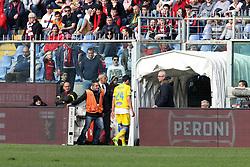 """March 3, 2019 - Genova, Italia - Foto LaPresse - Tano Pecoraro.03 03 2019 Genova - (Italia).Sport Calcio.Genoa vs Frosinone.Campionato di Calcio Serie A TIM 2018/2019 - Stadio """"Luigi Ferraris"""".nella foto: cassata francesco espulso..Photo LaPresse - Tano Pecoraro.03 March 2019 City Genova - (Italy).Sport Soccer.Genoa vs Frosinone.Italian Football Championship League A TIM 2018/2019 - """"Luigi Ferraris"""" Stadium.in the pic: cassata francesco espulso (Credit Image: © Tano Pecoraro/Lapresse via ZUMA Press)"""