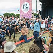 WASHINGTON, DC - September 26th, 2015 - Dan Deacon performs at the 2015 Landmark Festival in Washington, D.C.  (Photo by Kyle Gustafson / For The Washington Post)