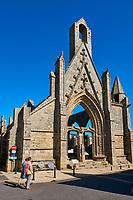France, Loire-Atlantique (44), Batz-sur-Mer, les ruines de la chapelle du Mûrier // France, Loire-Atlantique, Batz-sur-Mer, remain of Mûrier chapel