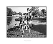 Female Rowing Crew in Galway.23/06/1958 .