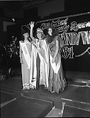 1984 - Miss Ireland Contest at the National Concert Hall