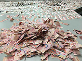 Man Tears Up Over Forty Thousand Savings