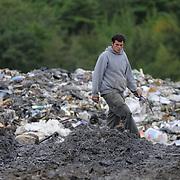 9/8/11 -- BATH, Maine. Bath Landfill.  Photo by Roger S. Duncan.