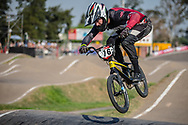 #76 (BABRIS Helvijs) LAT during practice at Round 9 of the 2019 UCI BMX Supercross World Cup in Santiago del Estero, Argentina
