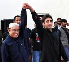 DEC 27 2012 Pakistan's President with Son