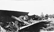8903-31H. Avro airplane crash. May 30, 1921 at Rose City Speedway, NE Portland, Oregon