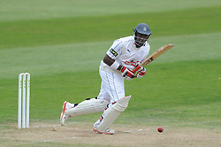Michael Carberry of Hampshire - Mandatory byline: Dougie Allward/JMP - 07966386802 - 11/09/2015 - Cricket - County Ground -Taunton,England - Somerset CCC v Hampshire CCC - LV=County Championship - Day 3