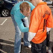 NLD/Noordwijk/20060829 - Nederlands Elftal komt bijeen voor de wedstrijd tegen Luxemburg, Tim de Cler
