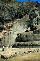 Nihonji Temple was established in the year 725 A.D. by the monk Gyoki and it is believed that Kobo Daishi disciplined himself at this temple. The main image of Buddha is a large stone statue 31 meters in height and open to the elements.