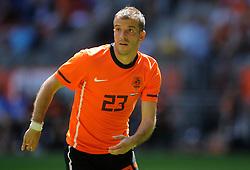 05-06-2010 VOETBAL: NEDERLAND - HONGARIJE: AMSTERDAM<br /> Nederland wint met 6-1 van Hongarije / Rafael van der Vaart<br /> ©2010-WWW.FOTOHOOGENDOORN.NL