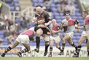 Reading, England, Action from the, European Shield Final, at the Madejski Stadium, NEC Harlequins v RC Narbonne.<br /> [Mandatory Credit, Peter Spurrier/ Intersport Images].