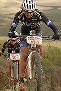 Ariane Kleinhans and Annika Langvad on their way to win stage 3 of the 2014 Absa Cape Epic Mountain Bike stage race held from Arabella Wines in Robertson to The Oaks Estate in Greyton, South Africa on the 26 March 2014<br /> <br /> Photo by Greg Beadle/Cape Epic/SPORTZPICS