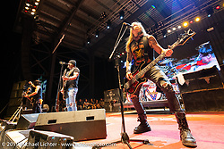Jackyl on the Full Throttle Saloon Main Stage on Jackyl night at the Full Throttle Saloon during the Sturgis Black Hills Motorcycle Rally. SD, USA. Thursday, August 8, 2019. Photography ©2019 Michael Lichter.