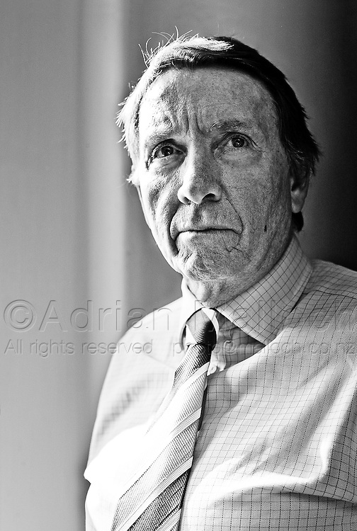 John Haigh QC, photographed for the feature, 'Auckland's Best Lawyers', in Metro magazine.