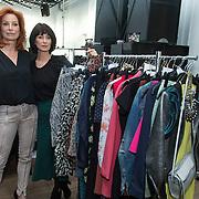 NLD/Amsterdam/20140306 - Presentatie Fashionplanet, Marian Mudder en Manouk van der Meulen