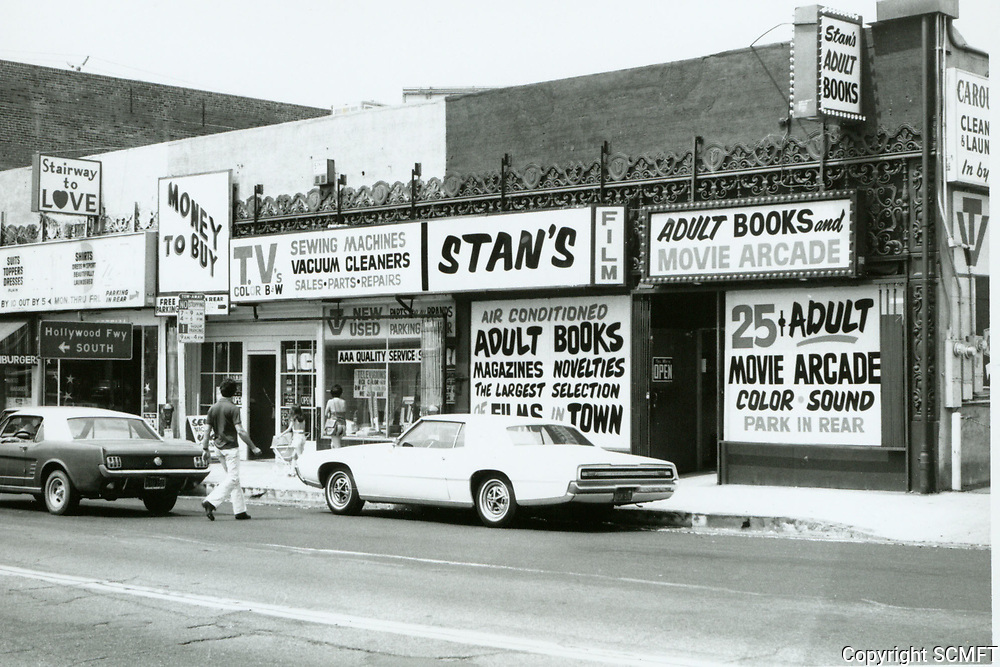 1975 Stan's Adult Bookstore & Theater on Western Ave.