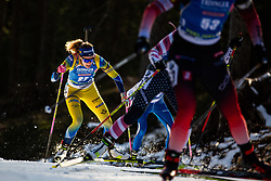 Hanna Oeberg (SWE) during the Women 15 km Individual Competition at day 2 of IBU Biathlon World Cup 2019/20 Pokljuka, on January 23, 2020 in Rudno polje, Pokljuka, Pokljuka, Slovenia. Photo by Peter Podobnik / Sportida