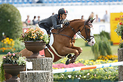 Cordon Pilar, (ESP), Gribouille du Lys<br /> Team and 1th individual qualifier <br /> FEI European Championships - Aachen 2015<br /> © Hippo Foto - Dirk Caremans<br /> 19/08/15