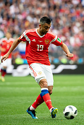 June 14, 2018 - Moscow, Russia - 180614 Alexander Samedov of Russia during the FIFA World Cup group stage match between Russia and Saudi Arabia on June 14, 2018 in Moscow..Photo: Petter Arvidson / BILDBYRÃ…N / kod PA / 92065 (Credit Image: © Petter Arvidson/Bildbyran via ZUMA Press)