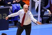 BRINDISI, 18 NOVEMBRE 2015<br /> BASKET, EUROCUP<br /> ENEL BRINDISI - GRISSINBON REGGIO EMILIA<br /> NELLA FOTO: Massimiliano Menetti<br /> FOTO CIAMILLO