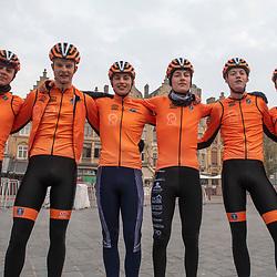 31-03-2019: Wielrennen: Kattekoers: Ieper<br /> Team NL