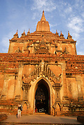 Myanmar, Bagan Gubyaukgyi temple