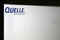 SYMBOLBILD - quelle, Logo, Emblem, Signet, Marke, Markenzeichen, Schriftzug, Startseite auf einem Computer, Bildschirmfoto // quelle, logo, emblem, logo, brand, trademark, logo, homesite on a computer, screenshot. EXPA Pictures © 2016, PhotoCredit: EXPA/ Eibner-Pressefoto/ Eibner - Pressefoto<br /> <br /> *****ATTENTION - OUT of GER*****