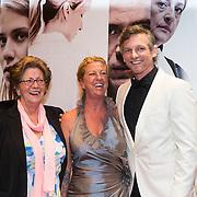 NLD/Amsterdam//20140330 - Filmpremiere Lucia de B. , Barry Atsma en nicht en tante van Lucia de Berk