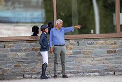 Hendrix Emiel, Hinners Sophie<br /> Nationaal Kampioenschap KWPN<br /> 7 jarigen springen final<br /> Stal Tops - Valkenswaard 2020<br /> © Hippo Foto - Dirk Caremans<br /> 19/08/2020