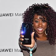 Scarlette Douglas attend Huawei - VIP celebration at One Marylebone London, UK. 16 October 2018.