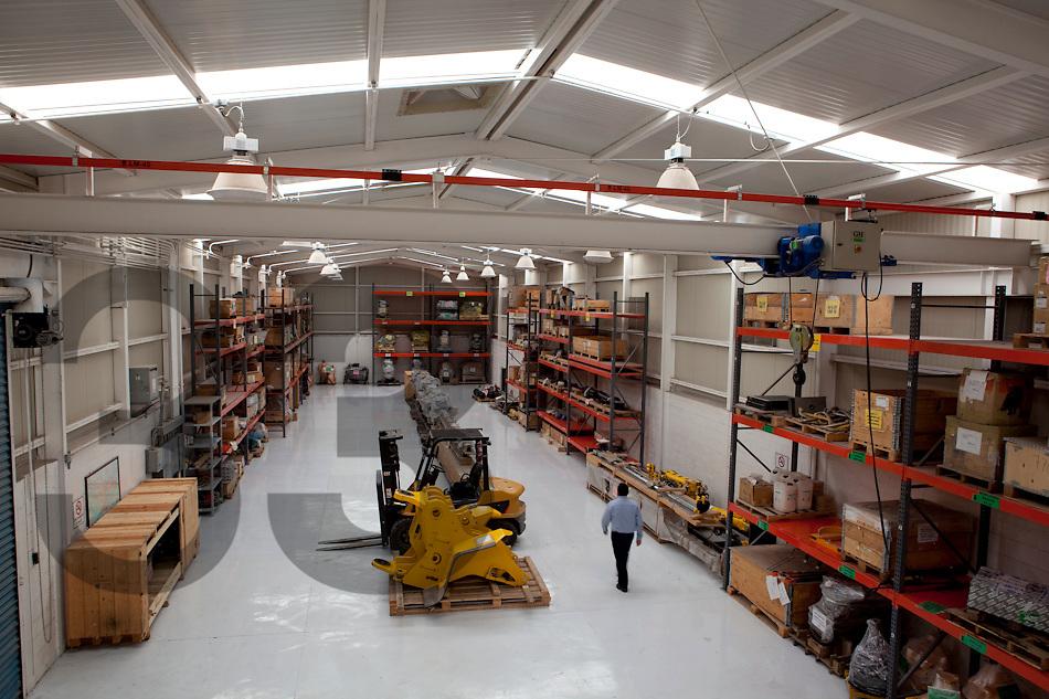 CDC Peñoles, distribución de componentes para el taller central de mina.