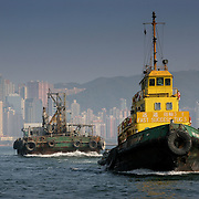 Fast success tug boat number 3, Hong Kong, China (January 2006)