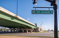 Architectural Image of Wekiva Parkway Bridge in Apopka Florida by Jeffrey Sauers of Commercial Photographics, Architectural Photo Artistry in Washington DC, Virginia to Florida and PA to New England