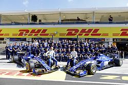 July 29, 2017 - Budapest, Hungary - Motorsports: FIA Formula One World Championship 2017, Grand Prix of Hungary, ..#9 Marcus Ericsson (SWE, Sauber F1 Team), #94 Pascal Wehrlein (GER, Sauber F1 Team) (Credit Image: © Hoch Zwei via ZUMA Wire)