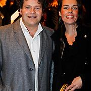 NLD/Amsterdam/20100324 - Premiere film First Mission, Dirk Zeelenberg en partner Suus