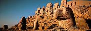 TURKEY, NEMRUT DAGI mountain top shrine and tomb