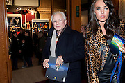 David Jason;  Tamara Ecclestone, Press night of Cirque du Soleil's new show 'Totem' at The Royal Albert Hall.  London. January 5, 2011<br /> <br /> -DO NOT ARCHIVE-© Copyright Photograph by Dafydd Jones. 248 Clapham Rd. London SW9 0PZ. Tel 0207 820 0771. www.dafjones.com.