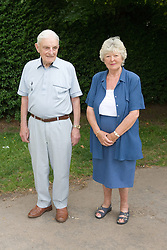 Older couple in the park,