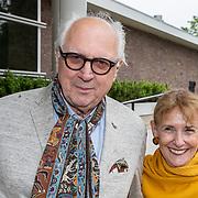 NLD/Amsterdam/20190612 - inloop 27e Hilton Haringparty 2019, Matthijs van Heijningen en partner Guurtje Buddenberg