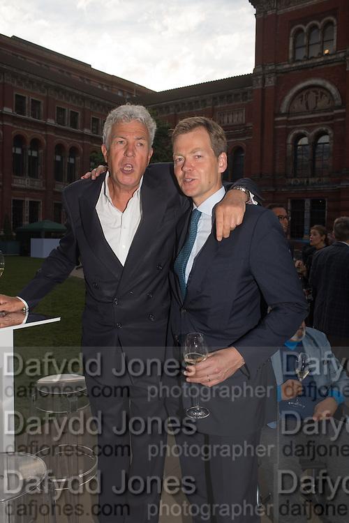 HENRY WYNDHAM; GODFREY BARKER, V & A Summer party. South Kensington. London. 22 June 2016